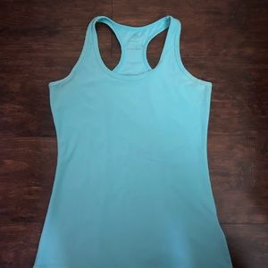 Mint/ Baby Blue Workout Tee